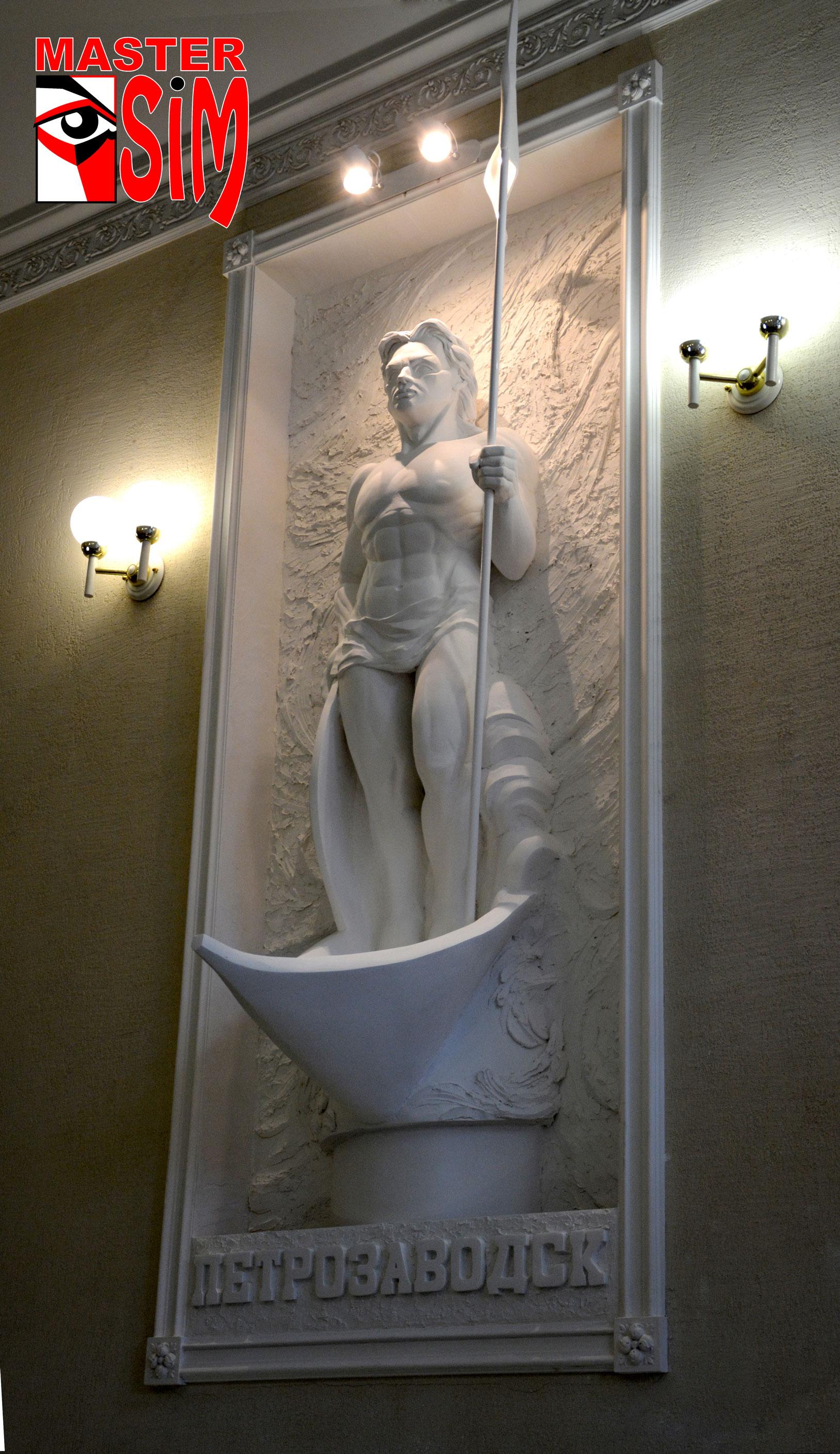 Барельеф, скульптура, дизайн, ремонт